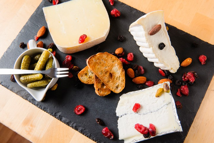 Specialties from the Cheese Plate.
